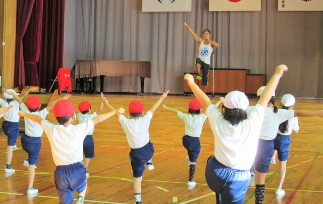 小学生の体幹トレーニング