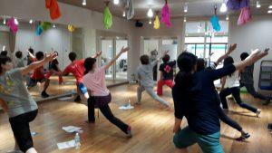 ダンスのための体幹トレーニング
