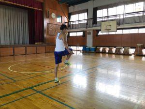 夏休みワクワク講座『体幹トレーニング』