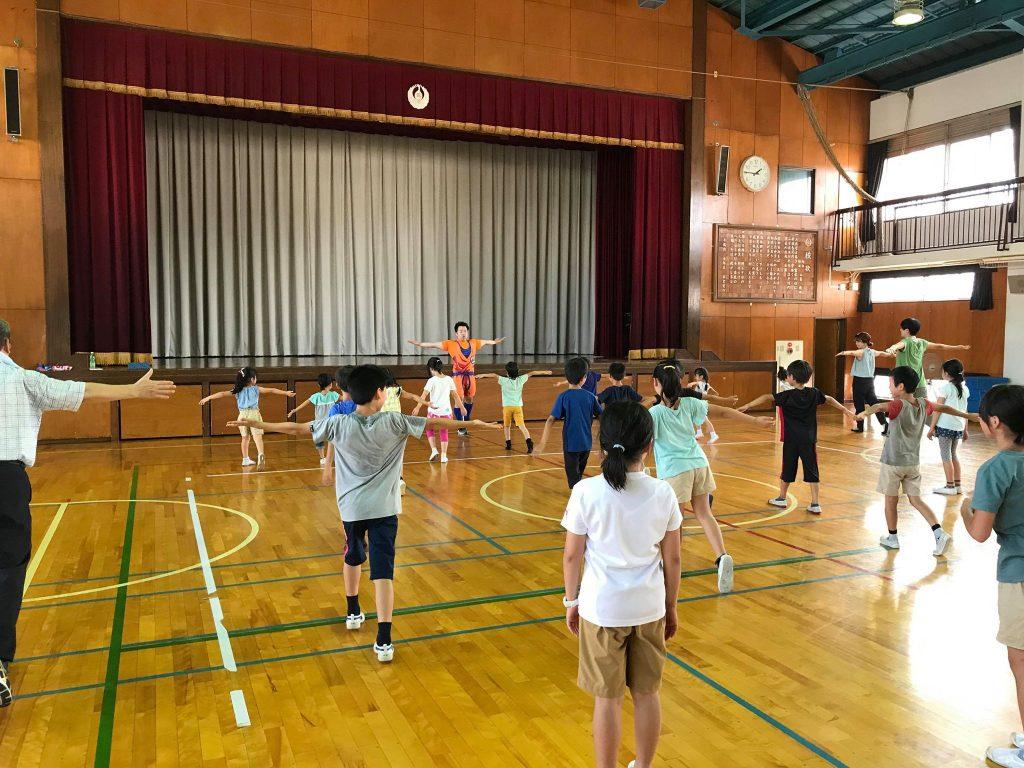 夏休みワクワク講座『体幹トレーニング』01