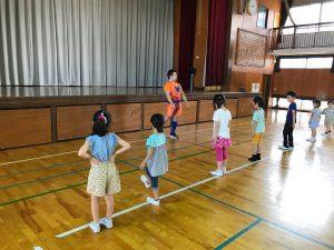 夏休みワクワク講座『体幹トレーニング』05
