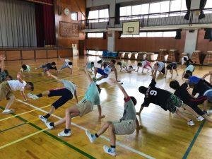 夏休みワクワク講座『体幹トレーニング』09