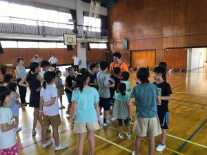夏休みワクワク講座『体幹トレーニング』10