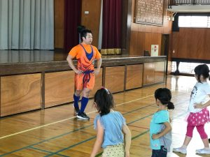 夏休みワクワク講座『体幹トレーニング』02
