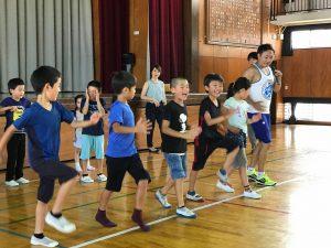 夏休みワクワク講座『体幹トレーニング』07