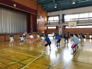 夏休みワクワク講座『体幹トレーニング』06
